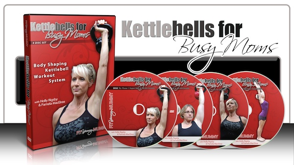 Kettlebell workouts for busy moms